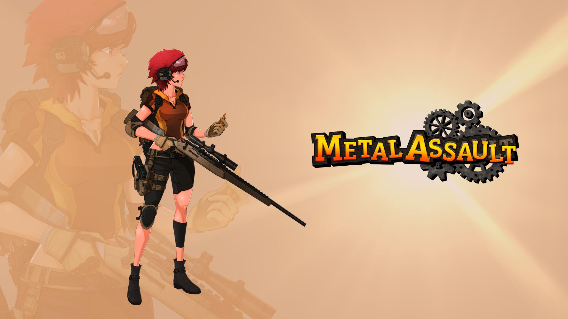 Metal Assault Wallpaper
